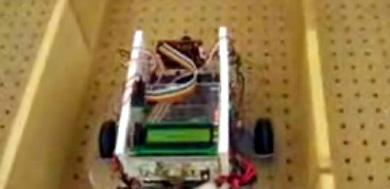 (Video) Robot que resuelve laberintos