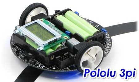 Robot Pololu 3pi - El seguidor de lineas programable