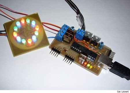 (Video) LED RGB con PIC y PWM