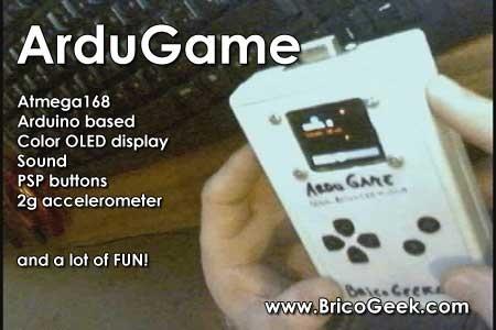 ArduGame: Juego portatil con Arduino, OLED y Acelerómetro