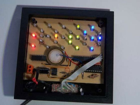 (Video DIY) DotClock: El reloj con LEDs