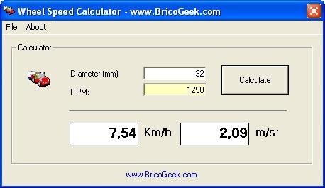 Cómo calcular la velocidad de tu robot