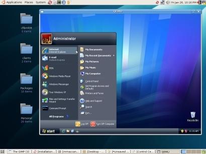 Como hacer funcionar Windows XP desde Ubuntu