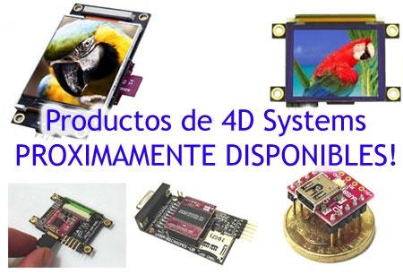 BricoGeek: Distribuitor oficial de productos de 4D Systems