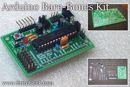 Arduino Bare-Bones Kit montado y funcionando!