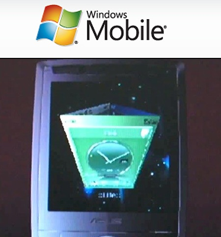 (Video) ASUS presenta Windows Mobile 6.1 touchscreen