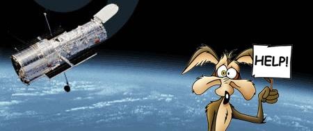 El telescopio Hubble cumple 17 años