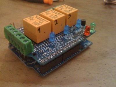 ReleShield para Arduino