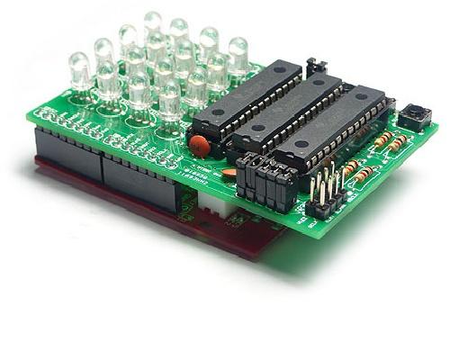 RGB LED Shield para Arduino con TLC5940