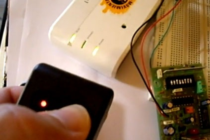 Alarma SMS con mando a distancia y La Fonera